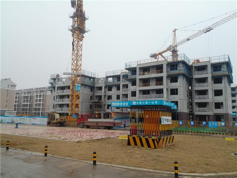 中建科技武汉公sishen港新城项目装配式辅材供ying