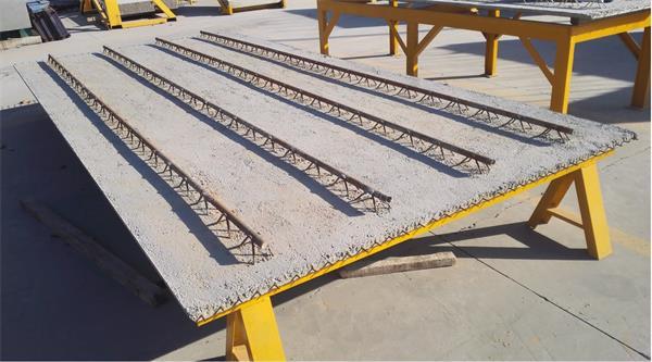 预ying力混凝土钢管桁jiadie合板——PKⅢ板